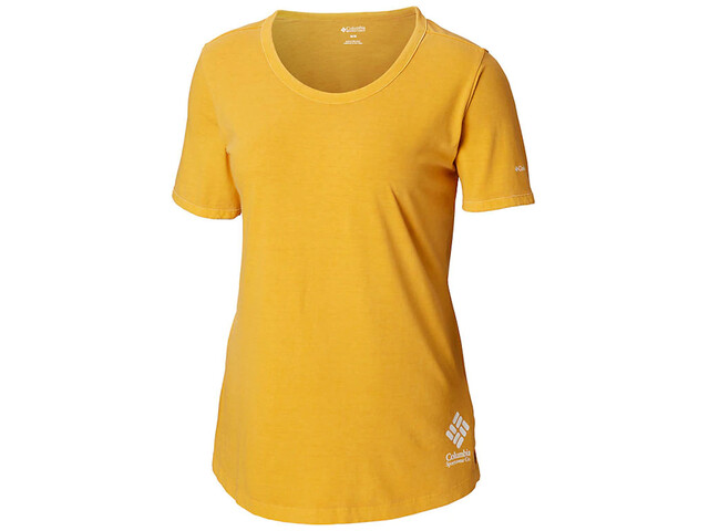 Columbia CSC Pigment T-shirt Dames, raw honey